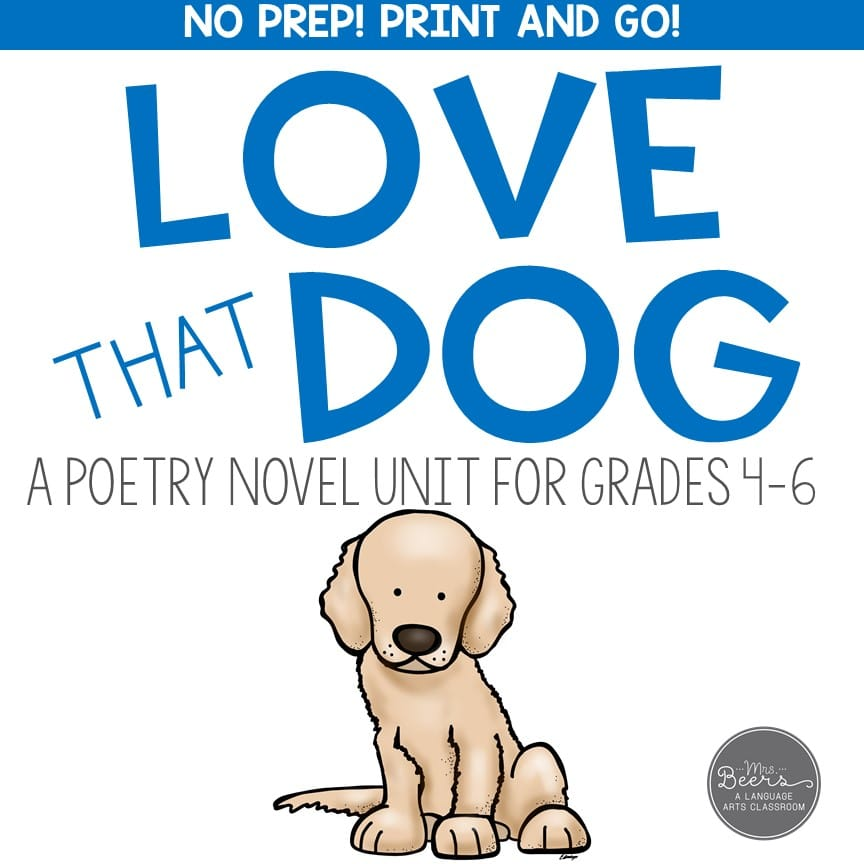 poetry unit freebie for middle school