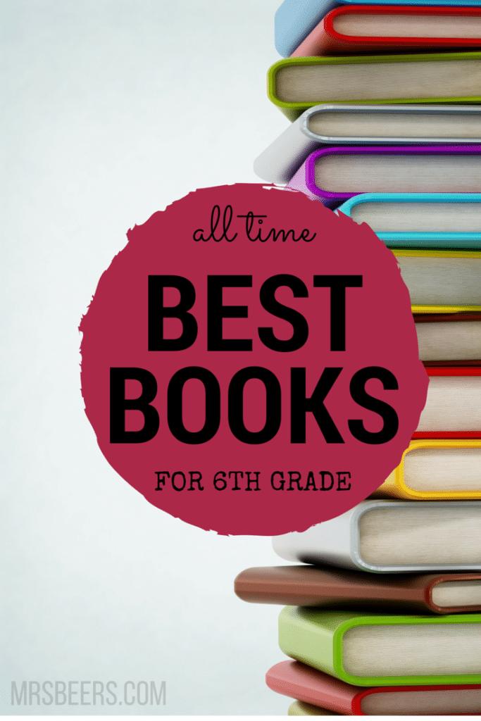 BEST BOOKS for 6th Grade