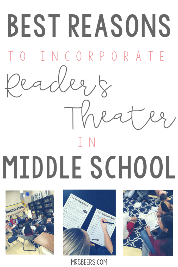 Best reasons to incorporate reader's theater into your middle school ELA classroom