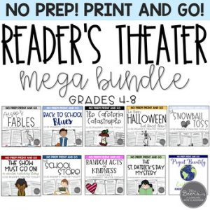 readers theater bundle for middle grades