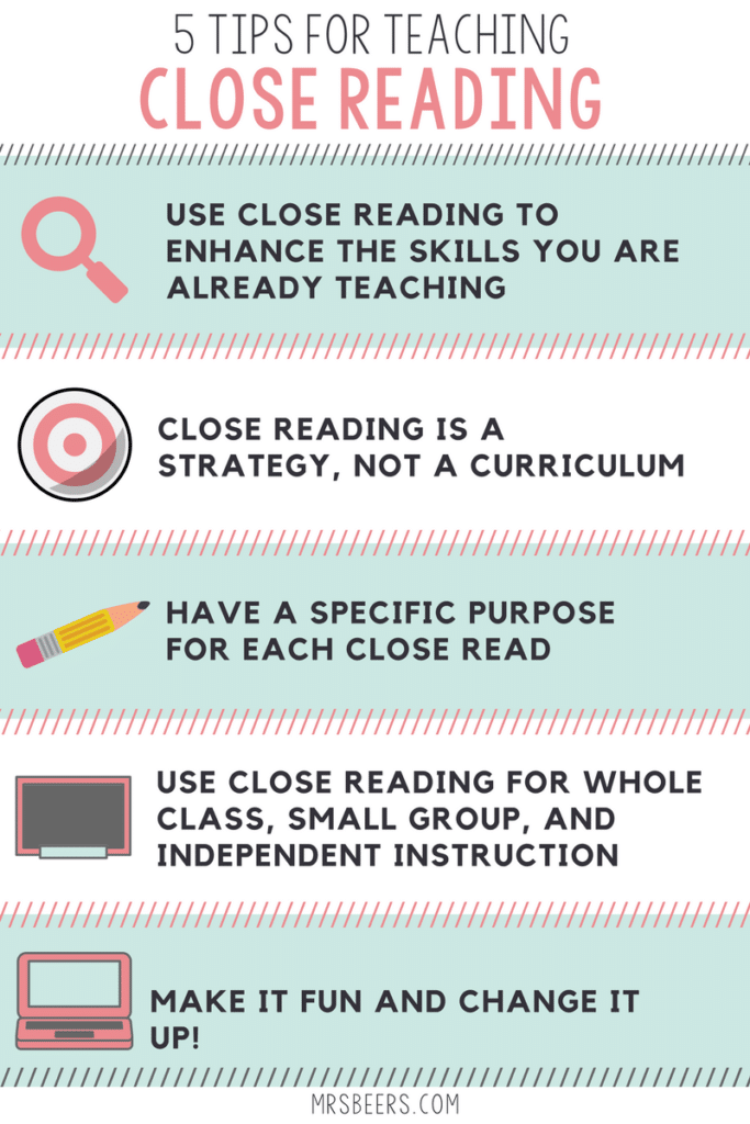 5 Tips for Teaching Close Reading