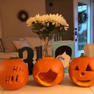 halloween carvings for wonder book