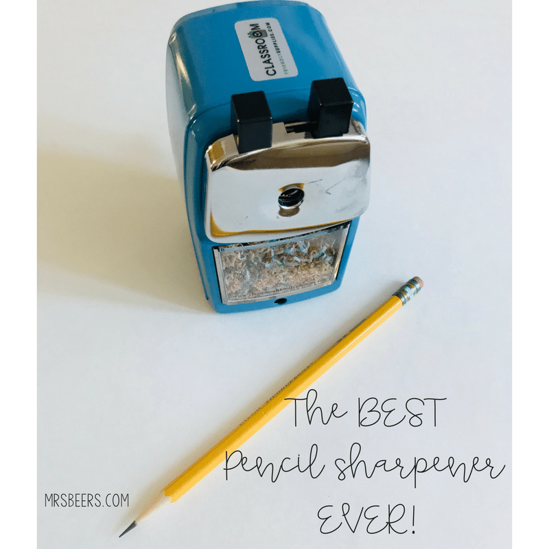 pencil sharpener ideas