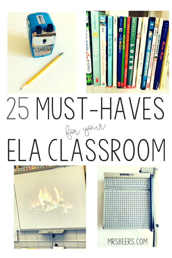 ELA classroom resources