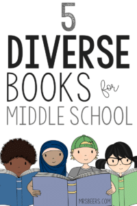 diversity books for middle school