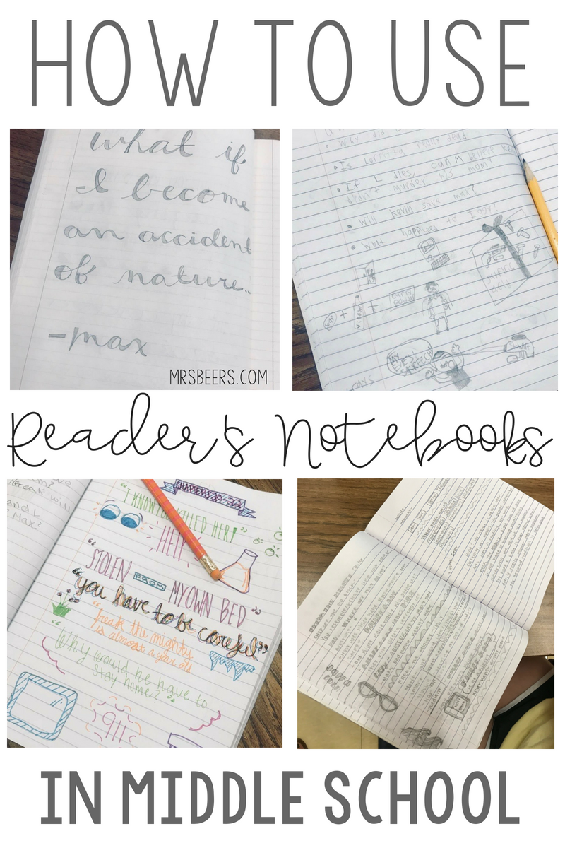 readers notebooks
