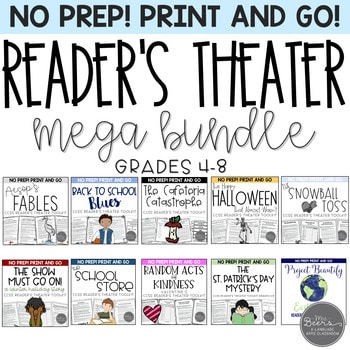middle school readers theater bundle