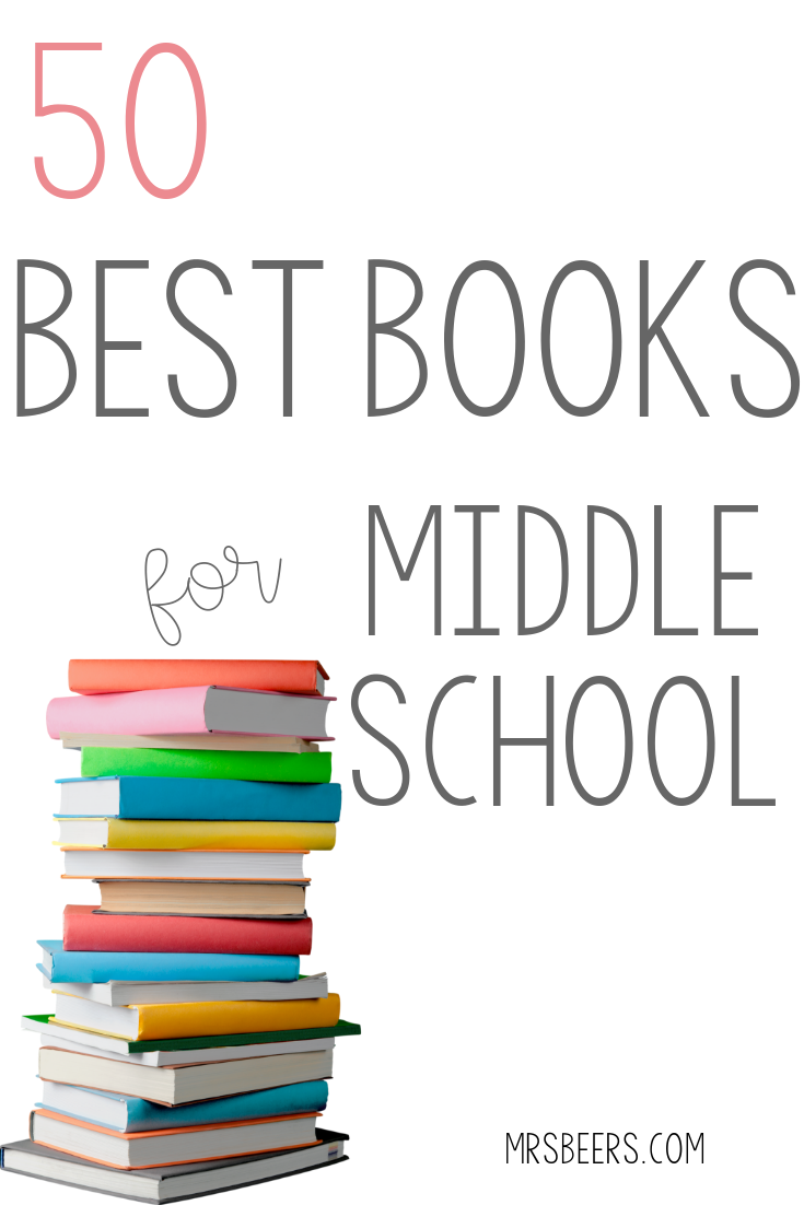 best books for middle school readers