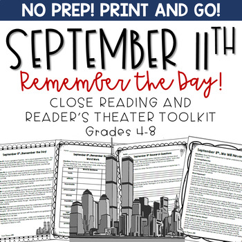 9/11 readers theater lesson plans
