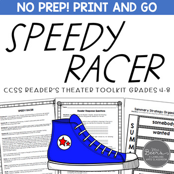 speedy racer readers theater for middle school