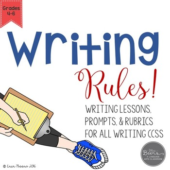 writing lessons and prompts for grades 4-6