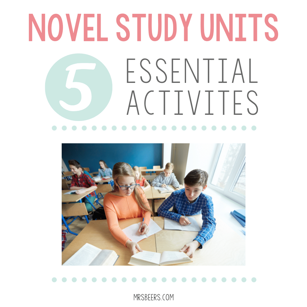 Novel Study Unit Activities
